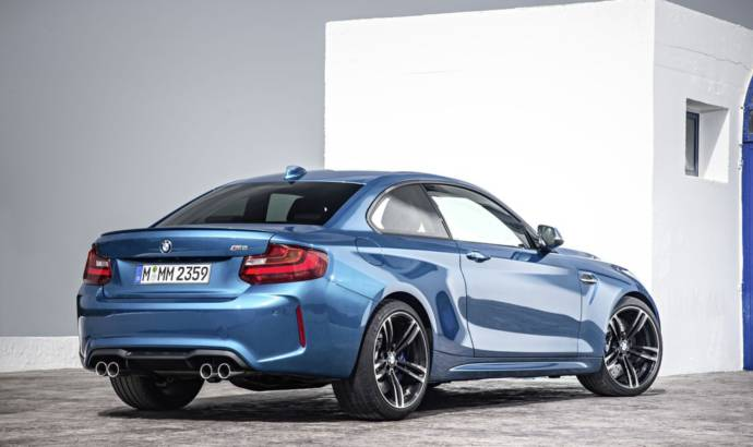 2016 BMW M2 driven on Salzburgring
