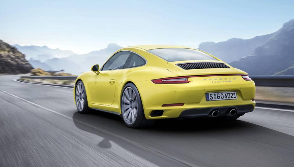 2016 Porsche 911 Carrera 4/4S and Targa 4/4S revealed