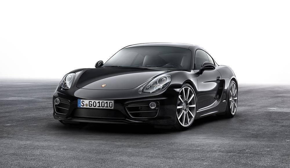2016 Porsche Cayman Black Edition introduced