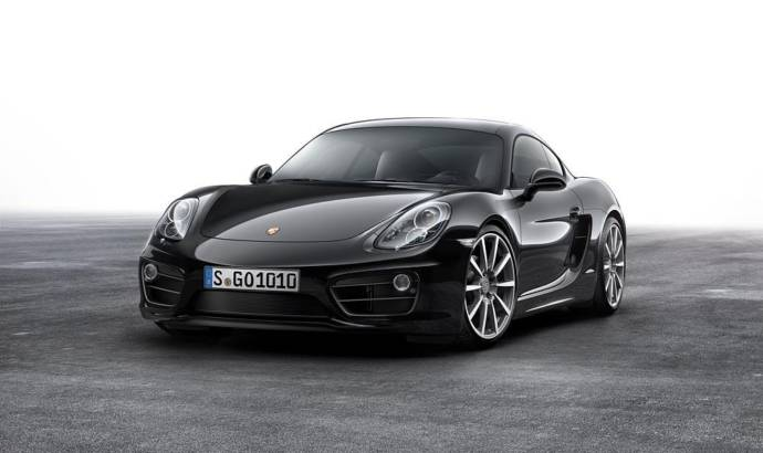 2016 Porsche Cayman Black Edition introduced