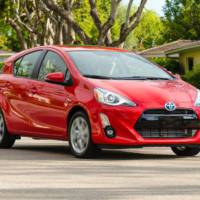 2016 Toyota Prius C facelift detailed