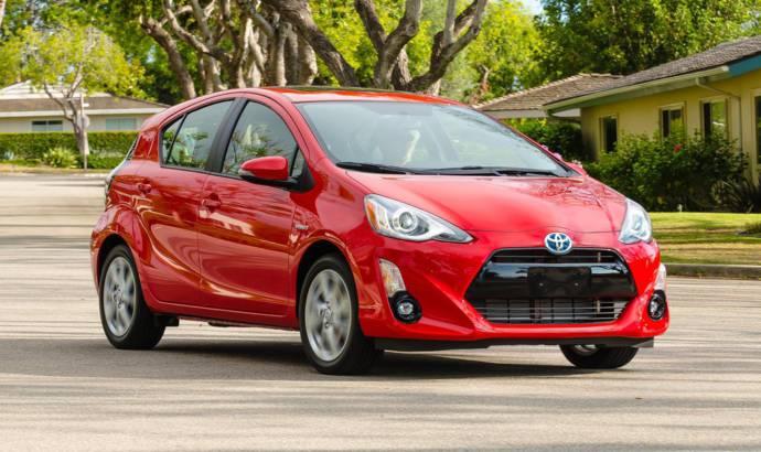 2016 Toyota Prius C facelift detailed