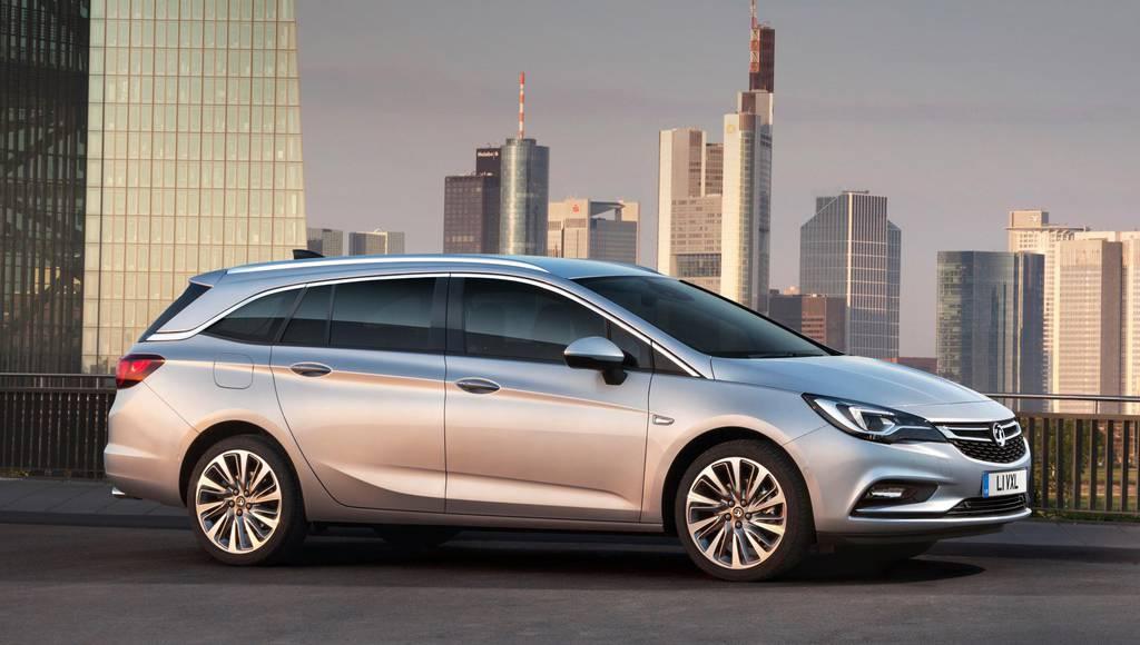 2016 Vauxhall Astra Sports Tourer UK prices