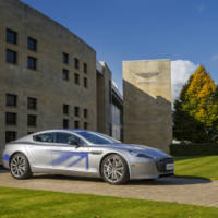 Aston Martin RapidE concept - Official pictures, details and video