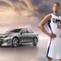 Blake Griffin promotes the new Kia Optima