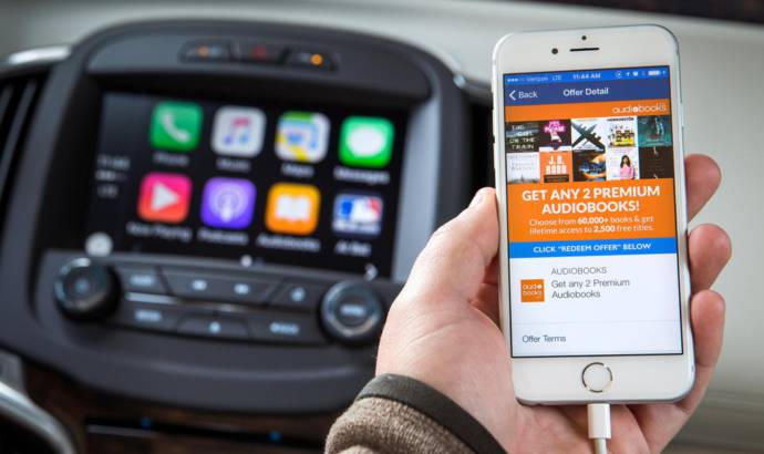 Buick offers audiobooks through OnStar