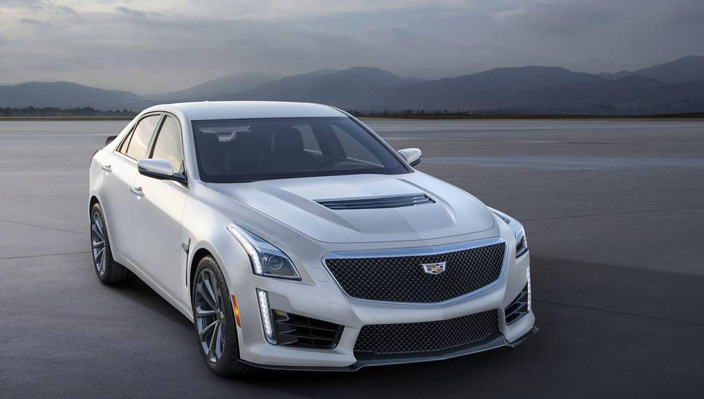 Cadillac ATS-V and CTS-V receive Crystal White Frost Edition