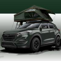 Hyundai Tucson Adventuremobile for SEMA