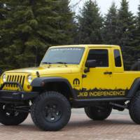 Jeep pickup won't be based on the Wrangler