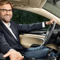 Jurgen Klopp will drive a Vauxhall Insignia