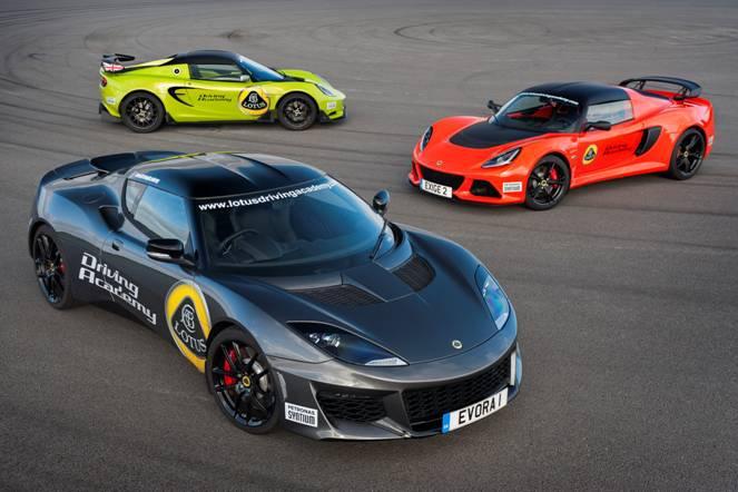 Lotus Driving Academy receives Evora 400