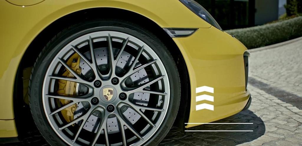 Porsche 911 Carrera front axle lift system