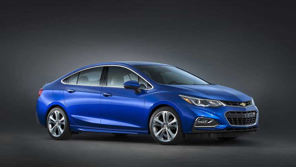 2016 Chevrolet Cruze US pricing