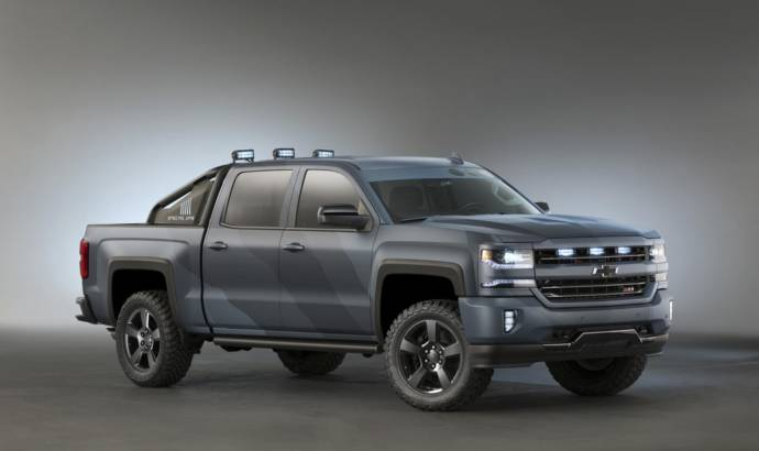 2016 Chevrolet Silverado Special Ops launched