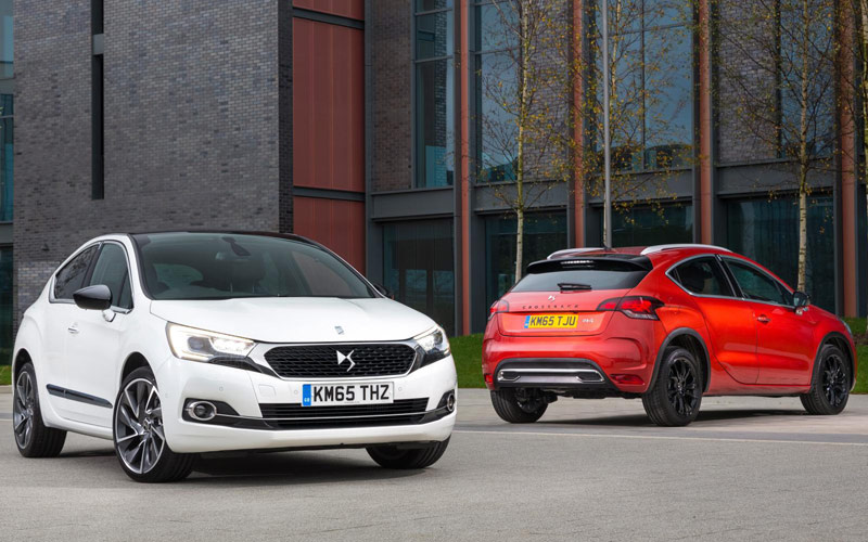 2016 Citroen DS4 and Citroen DS4 Crossback pricing