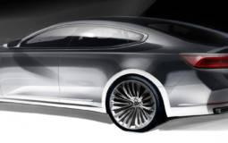 2016 Kia Cadenza first sketches revealed