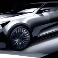 2016 Kia Cadenza first sketches revealed