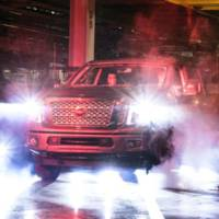 2016 Nissan Titan enters production in Canton