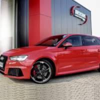 Audi RS3 injected by DTE Systems with 410 HP