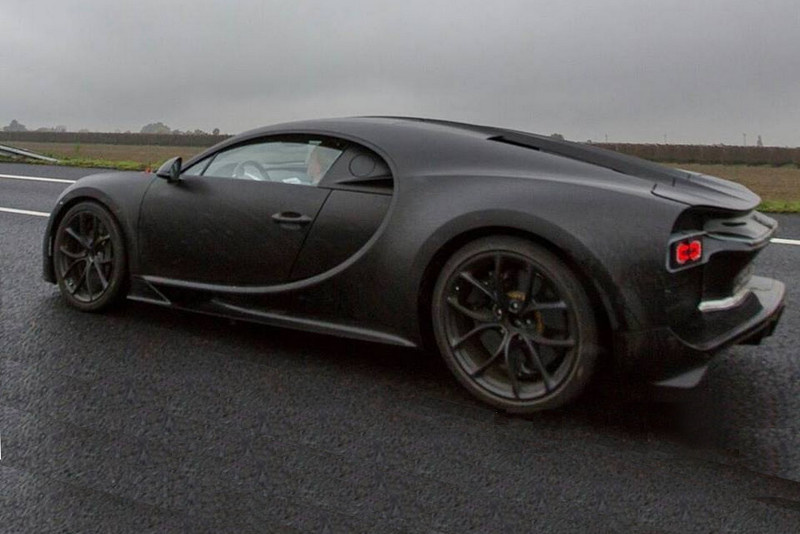 Bugatti Chiron - First unofficial picture