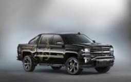 Chevrolet Silverado Real Bone Collector also shown at SEMA