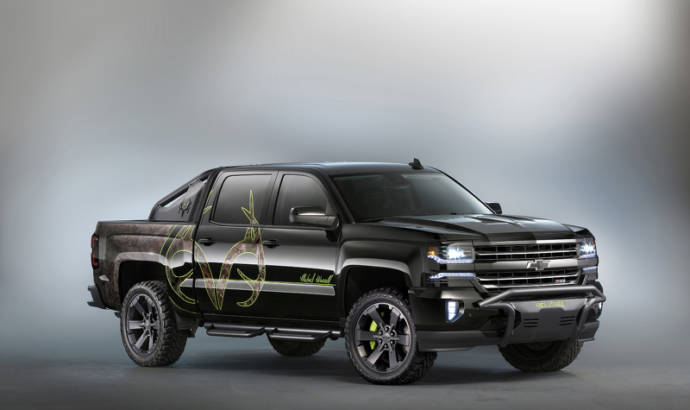 Chevrolet Silverado Real Bone Collector also shown at SEMA