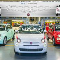 Fiat 500 reaches 1.5 million units produced