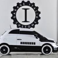 Fiat 500e Stormtrooper bows in Los Angeles