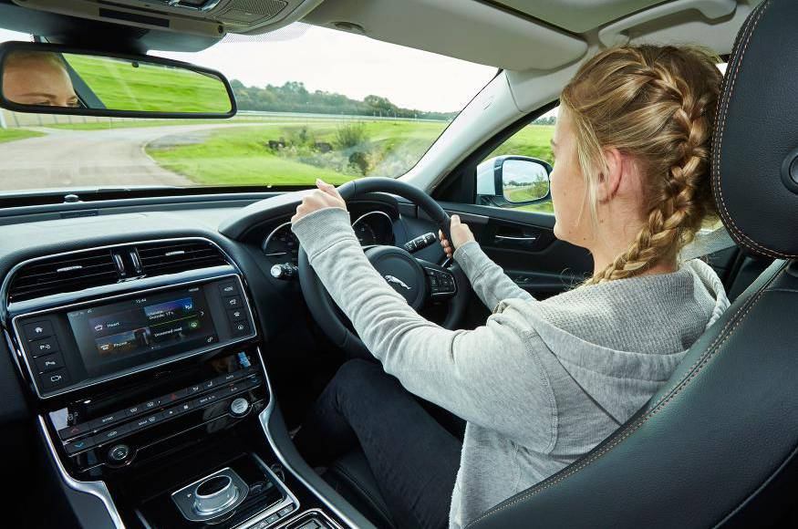 Jaguar learns youngster under 17 to drive in UK