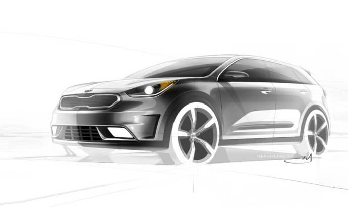 Kia Niro teasers anticipate a new hybrid SUV