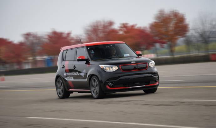 Kia autonomous cars technology in progress