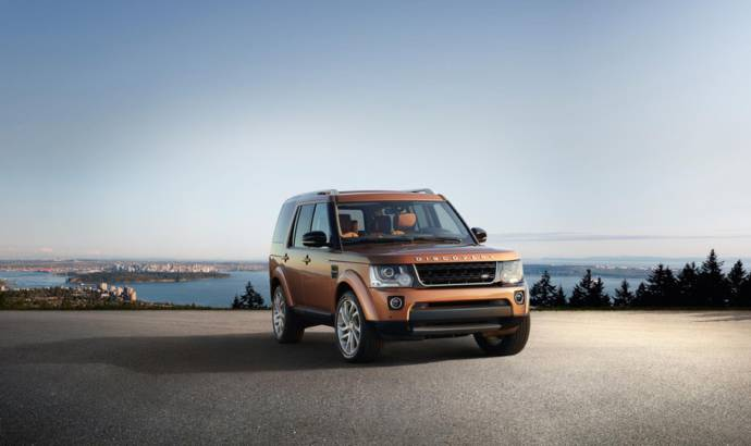 Land Rover Discovery Landmark introduced
