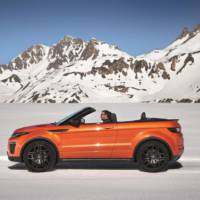 Land Rover Evoque Convertible unveiled ahead of LA Motor Show