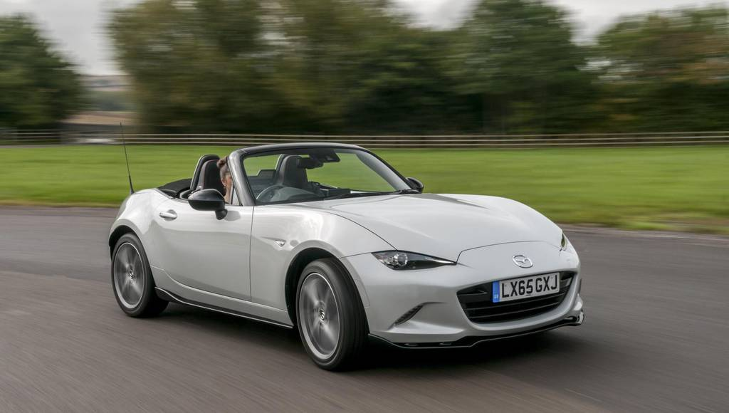 Mazda MX-5 Sport Recaro edition unveiled