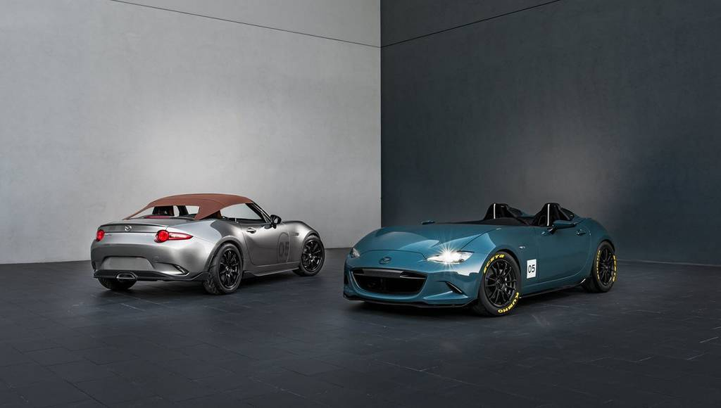 Mazda MX-5 Spyder and MX-5 Speedster revealed at 2015 SEMA Show