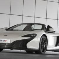 McLaren 650S Spider Al Sahara 79 Edition unveiled