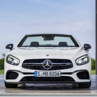 Mercedes-Benz SL facelift - Official pictures and details