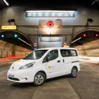 Nissan e-NV200 used for Liverpool maintenance