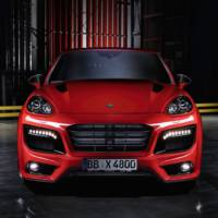 Porsche Cayenne Turbo modified by Techart