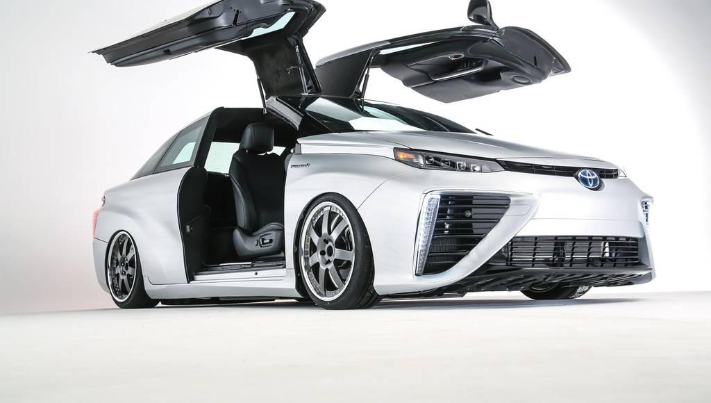 Toyota Mirai Back to the future custom vehicle