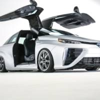 Toyota Mirai Back to the future custom vehicle