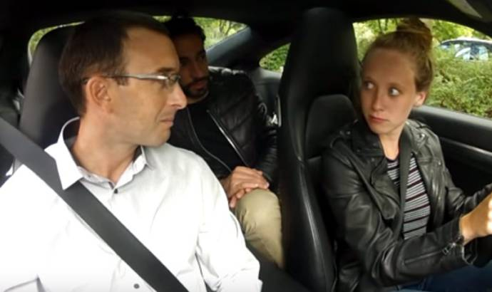VIDEO: Porsche 911 used for driving exam