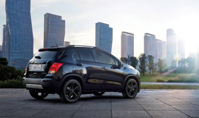 2016 Chevrolet Trax Midnight Edition available in the US