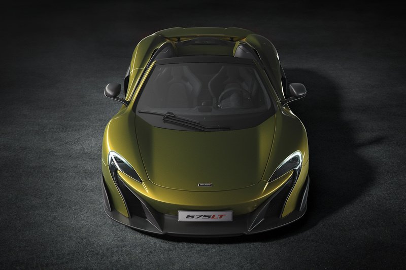 2016 McLaren 675LT Spider - Official pictures and details