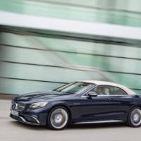 2016 Mercedes-AMG S65 Cabriolet - Official pictures and details
