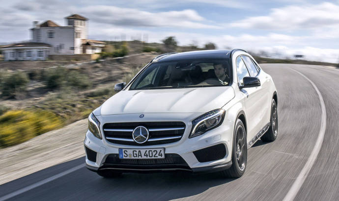 2016 Mercedes GLA250 updated in US
