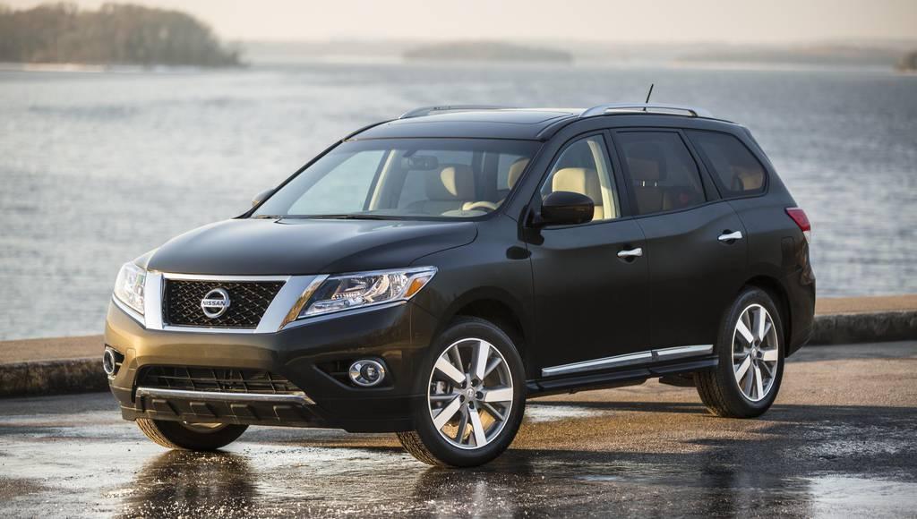 2016 Nissan Pathfinder US pricing
