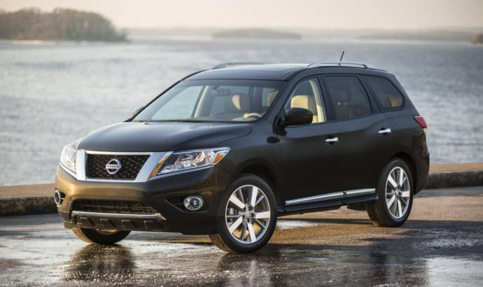 2016 Nissan Pathfinder US pricing
