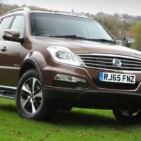 2016 Ssangyong Rexton available in the UK