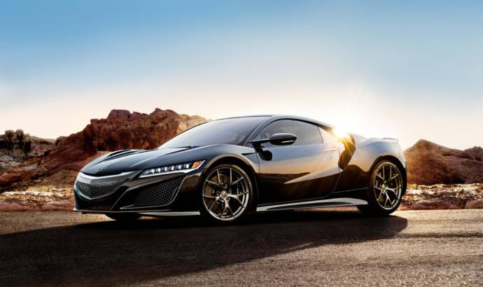 2017 Acura NSX details and US pricing